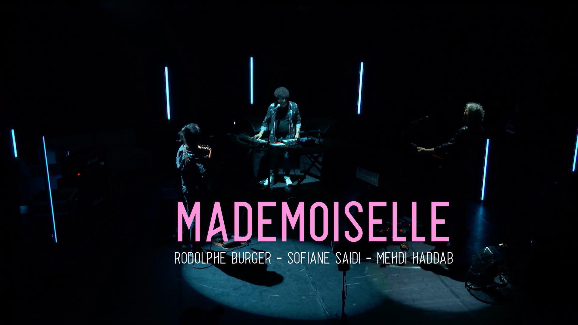 Avant-première du Trio Mademoiselle pour le festival Banlieues Bleues